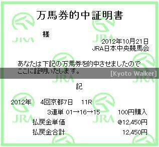 10.21. 菊花賞